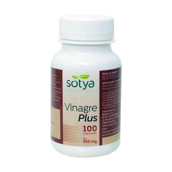 Vinaigre plus 550mg - 100 capsules Sotya Health Supplements - 1