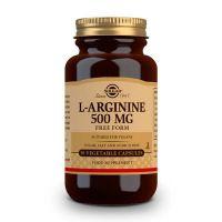 L-arginine 500mg - 50 Capsules végétales Solgar - 1
