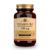 Vitamine K 100mg - 100 comprimés Solgar - 1
