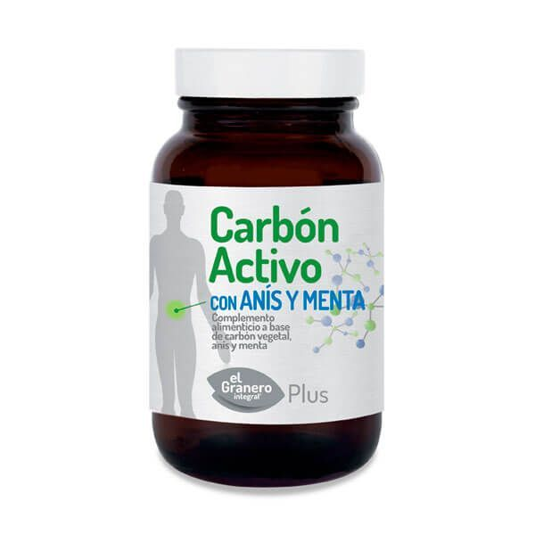 Carbon activo 870mg - 90 softgels
