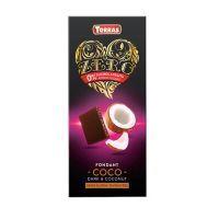 Dark chocolate with coco zero - 125g