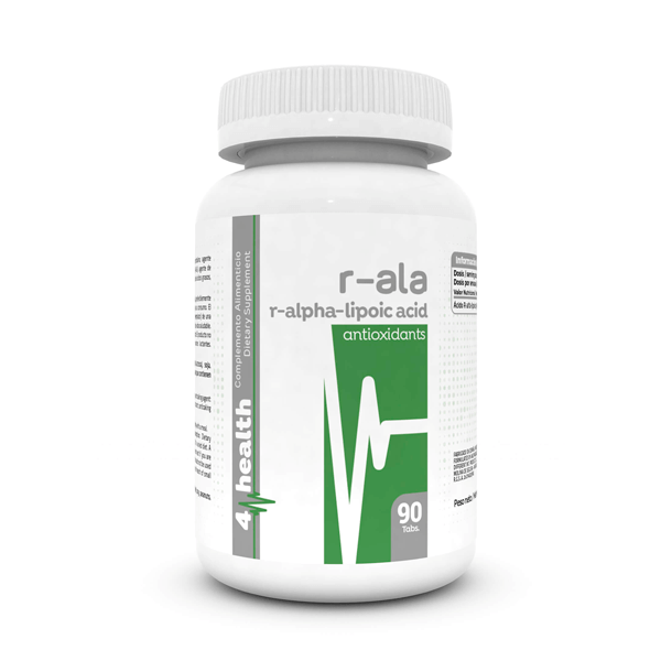 R-ala (r alpha lipoic acid) - 90 tablets