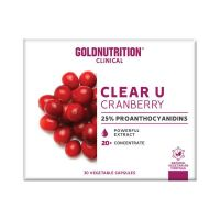Clear U Cranberry - 15 Capsules