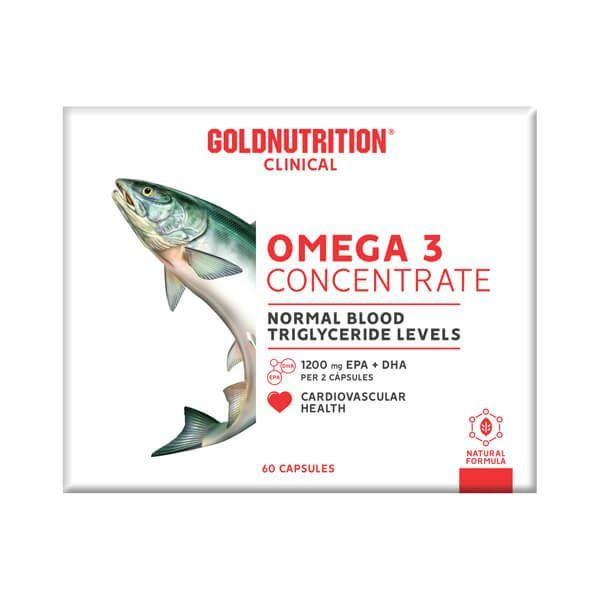 Omega 3 concentrate - 60 capsules