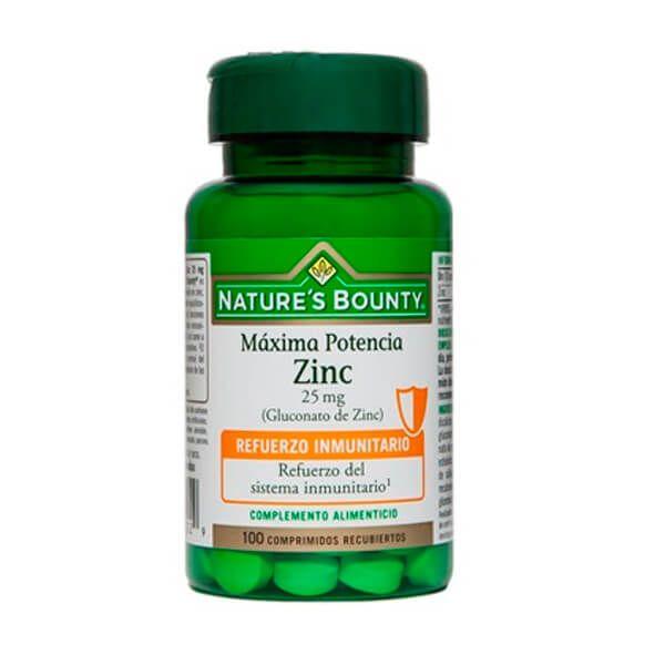 Zinc 25mg (zinc gluconate) - 100 tablets