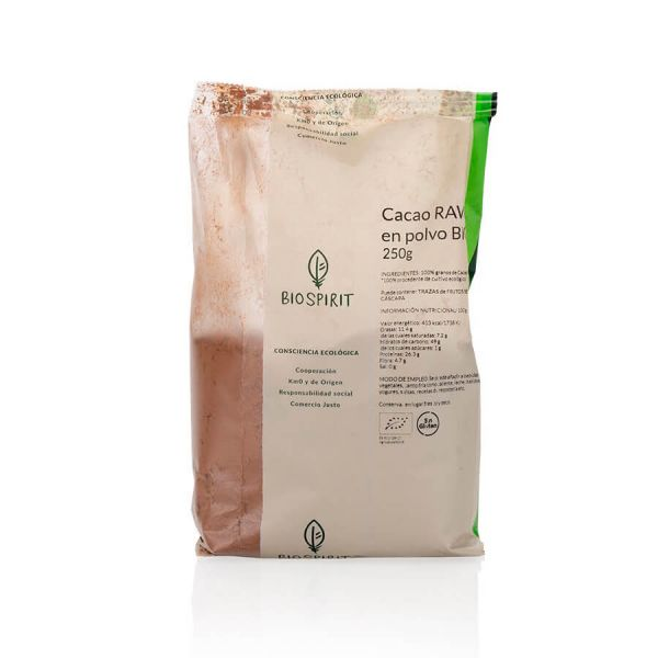 Organic raw cocoa powder - 250g