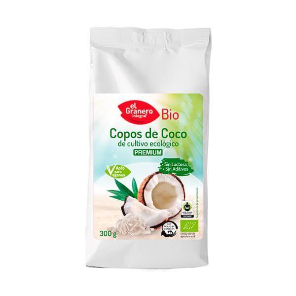 Organic coconut flakes - 300g