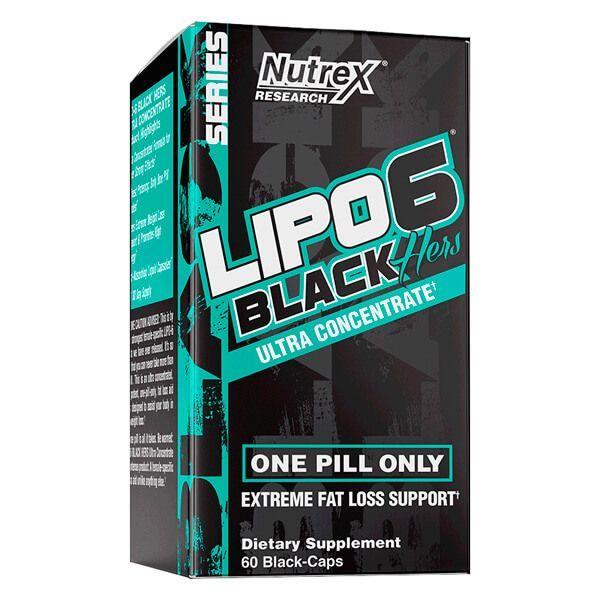 Lipo 6 black hers - 60 capsules
