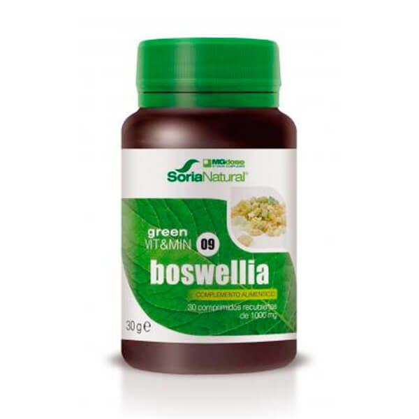 Green vit&min 09 boswellia - 30 tablets