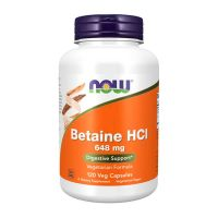 Betaine hcl 648mg - 120 veg capsules