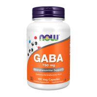 Gaba 750mg - 100 veg capsules